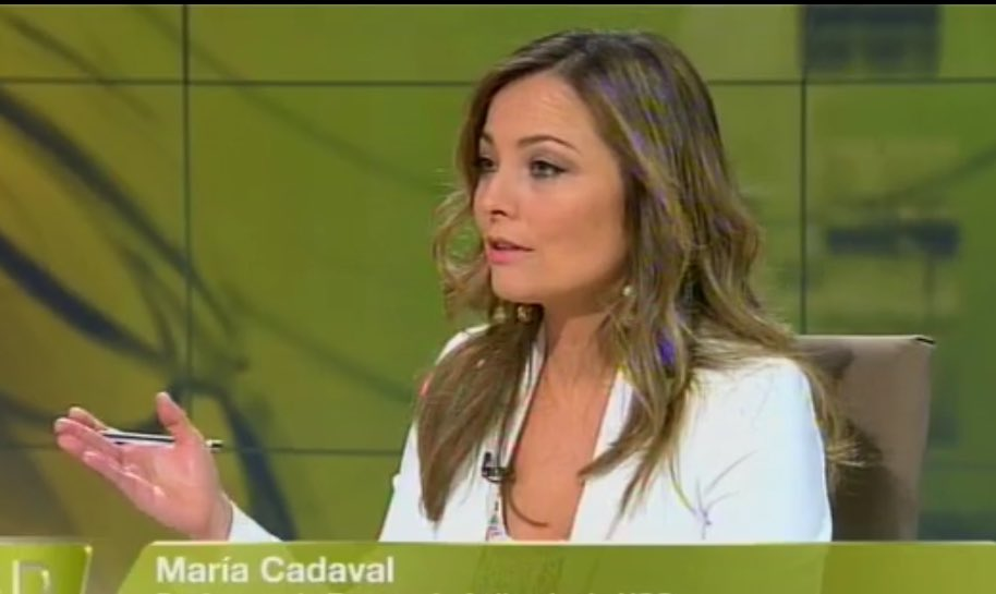 La profesora María Cadaval, directora de la Cátedra Iberoamericana de la USC