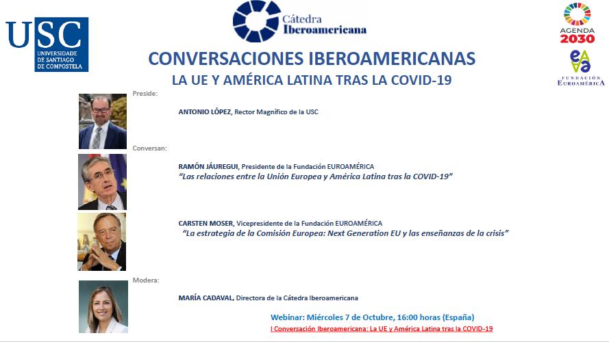 En este momento estás viendo Conversaciones Iberoamericanas: La UE y América Latina tras la COVID-19.