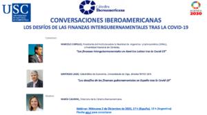 V Encuentro de las Conversaciones Iberoamericanas: Los desafíos de las finanzas intergubernamentales tras la COVID-19