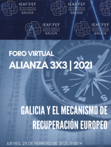 Lee más sobre el artículo Jornada «Galicia y el Mecanismo de Recuperación Europeo»