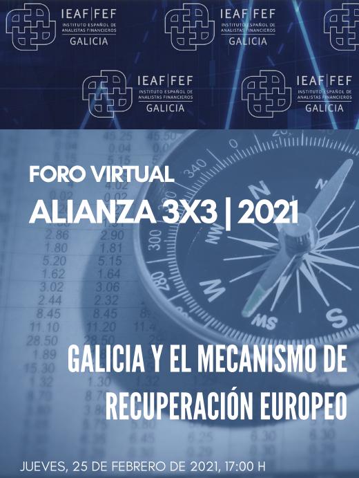 """Jornada """"Galicia y el Mecanismo de Recuperación Europeo"""""""