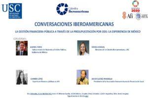Lee más sobre el artículo IX Encuentro Conversaciones Iberoamericanas: La gestión financiera pública a través de la presupuestación por ODS, la experiencia de México