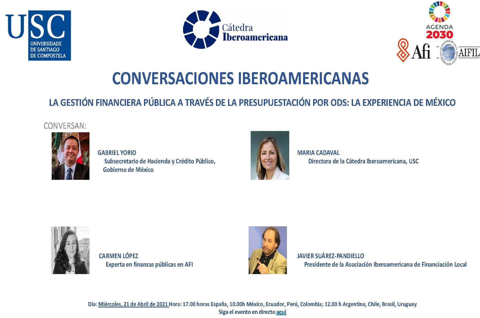 IX Encuentro Conversaciones Iberoamericanas: La gestión financiera pública a través de la presupuestación por ODS, la experiencia de México