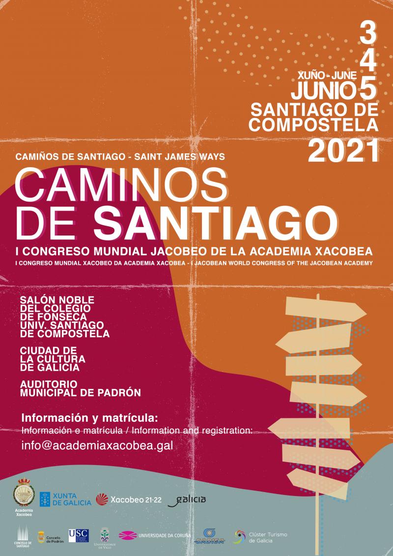 Lee más sobre el artículo La directora de la Cátedra Iberoamericana, María Cadaval, participa en el I Congreso Mundial Jacobeo