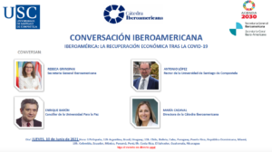 Lee más sobre el artículo Conversación Iberoamericana: Iberoamérica: La recuperación económica tras la COVID-19